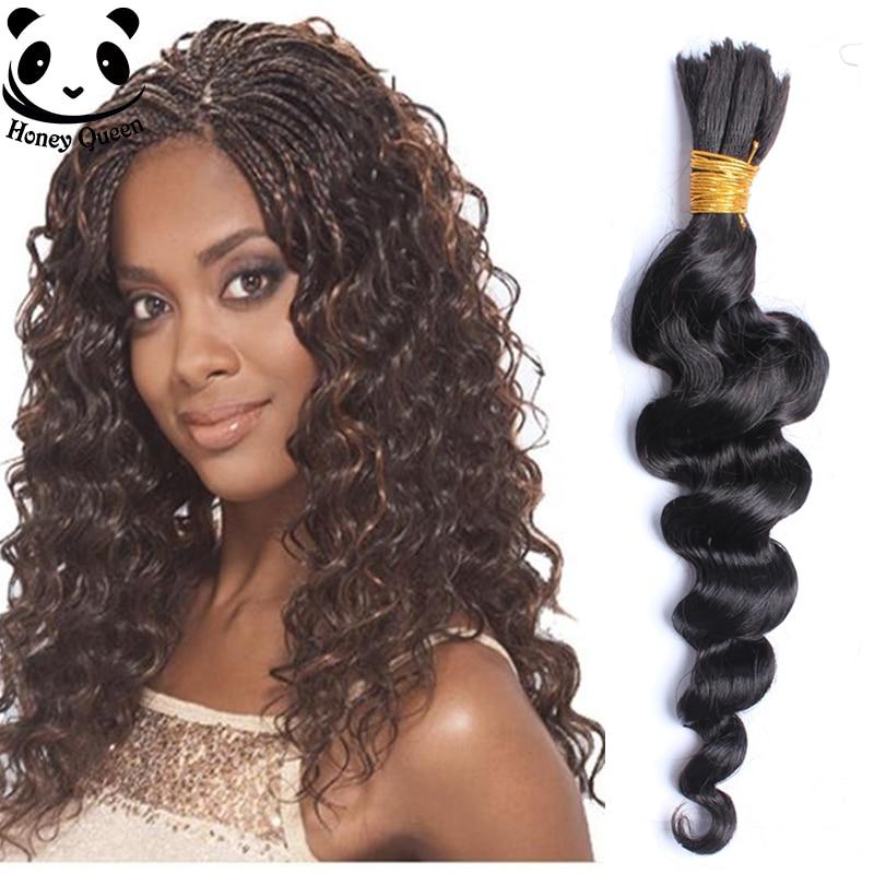 8A Deep Curly Human Braiding Hair Bulk Unprocessed ...