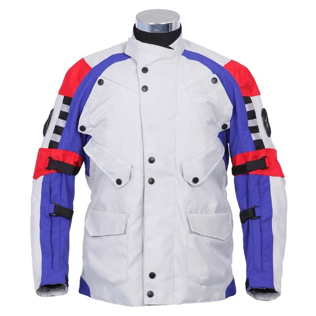 Free shipping 1pcs NEW Mens Waterproof Motocycle Motorbike Touring Jacket Thermal Lining with 5pcs pads