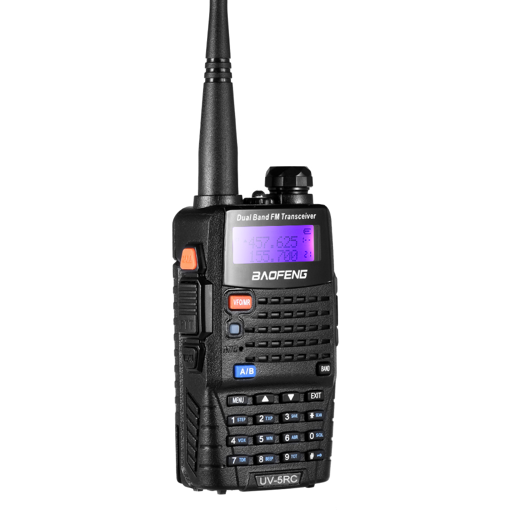 Image 2 - Baofeng UV 5RC Walkie Talkie Ham 2 Two Way VHF UHF CB Radio Station Transceiver Boafeng Amador Scanner Portable Handy Woki Toki-in Walkie Talkie from Cellphones & Telecommunications