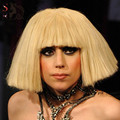 1PC LADY GAGA Wig Cosplay Cos Hairpieces Free Gift Cap Blonde Black U Part Wig Long Hair Synthetic Wigs