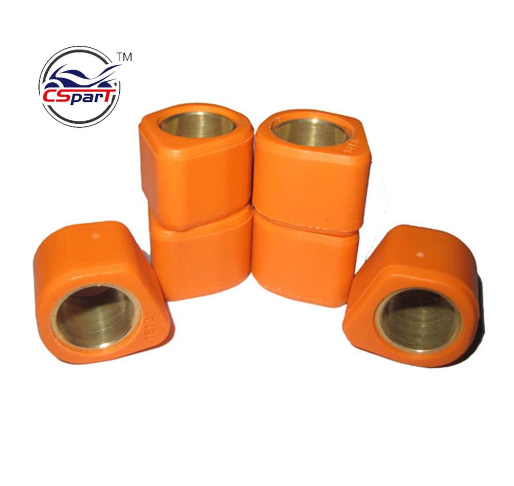 Performance variator rollers Roller set 16x13mm for Scooter Moped