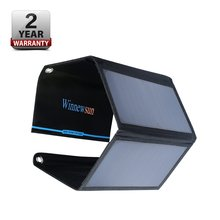 Winnewsun 21W Solar Panel Polycrystalline Charger Safe  With 2 Output Of Port 5 V For Mobile Phone Tablet New Tech