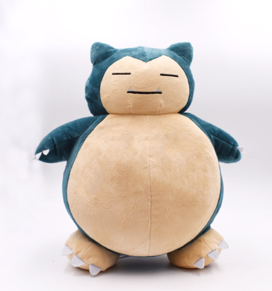 1PCS 50cm Plush Toy Snorlax Plush Anime New Rare Soft Stuffed Animal Doll Pillow For Kid Gifs 9 22 cm gengar plush toys anime new rare soft stuffed animal doll for kids gift