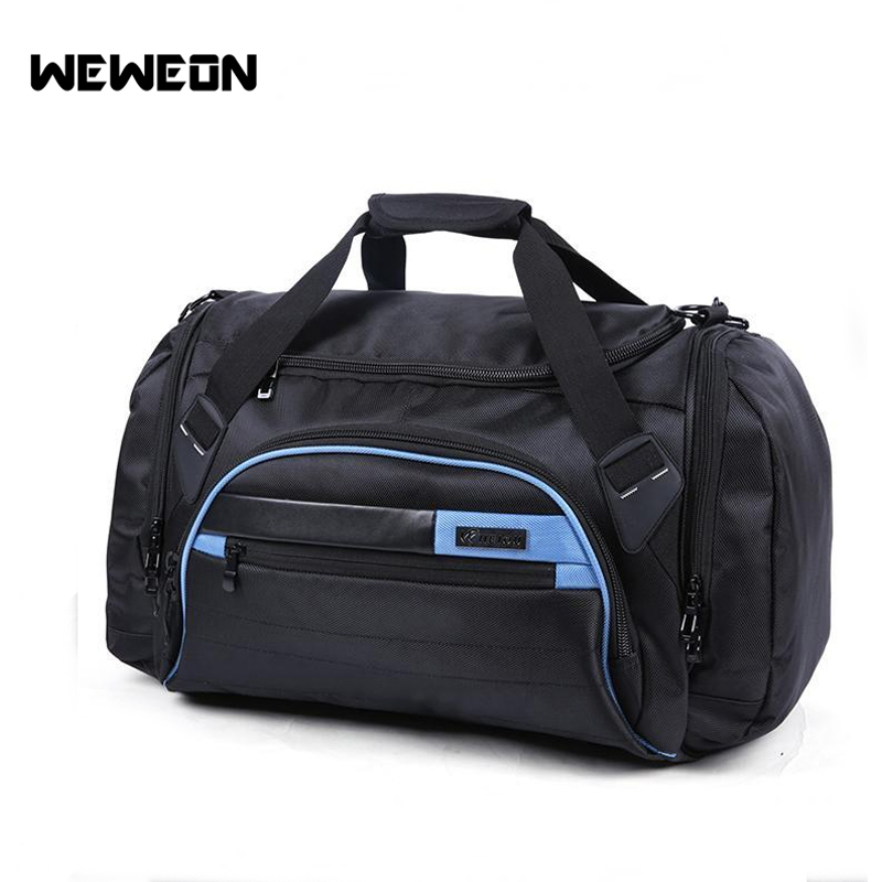 Heavy Duty Oxford Fabric Sports Bag Large Capacity Fitness Training Bag Multifunctional Gym Duffle Bag for Women and Men 70 180cm training fitness mma boxing bag hook hanging saco de boxe kick fight bag sand punch punching bag sandbag