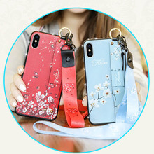 Lanyard For Keys Phone Strap Iphone 7 Plus Case Chinese Flower Soft Tpu Holder