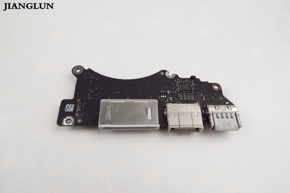 JIANGLUN 90% New USB I/O Board For Apple A1398 2013 2014 original laptop a1398 i o usb hdmi sd card reader board for macbook pro retina 15 a1398 usb board 2012 2013 2014 2015 year