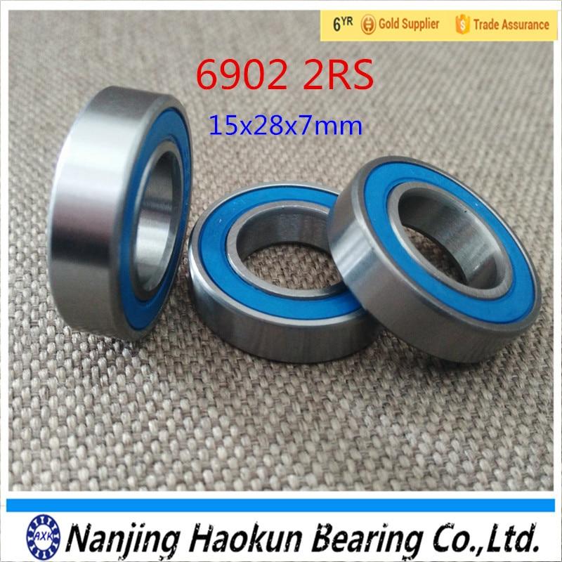 6902-2RS 6902 61902 hybrid ceramic deep groove ball bearing 15x28x7mm 628 2rs 628 hybrid ceramic deep groove ball bearing 8x24x8mm