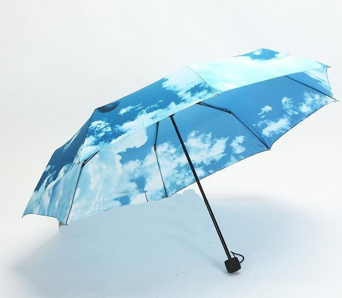 10cbd7894faaa Personalized Umbrella Blue Sky Umbrella Sola Fashion Rain Arch Umbrella-in  Umbrellas from Home & Garden on Aliexpress.com | Alibaba Group