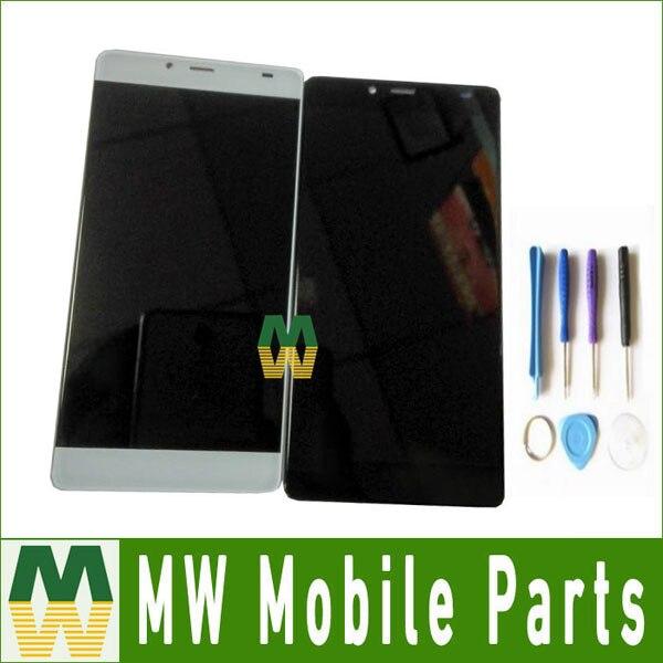 1 PC/Lot Haute Qualité 5.2 Pouce Pour Elephone S3 Écran lcd + Écran Tactile Digitizer Assemblée Noir Blanc couleur avec outils