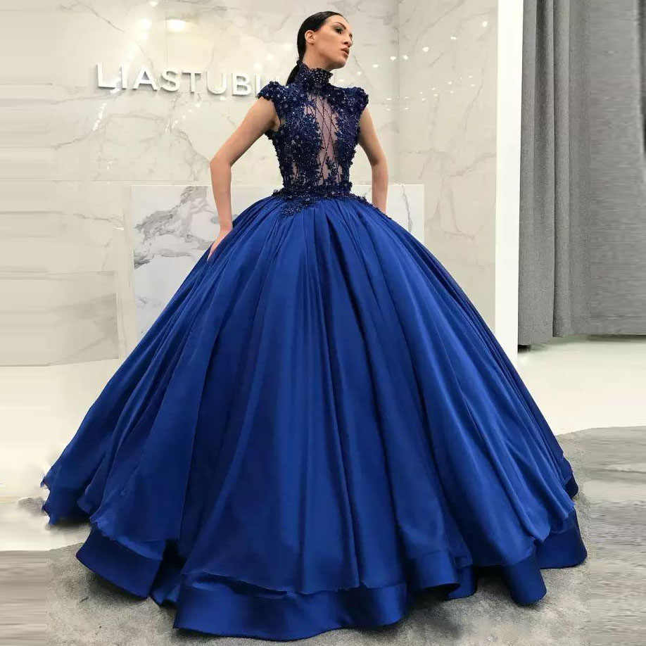 c23a79a9f9564 Detail Feedback Questions about 2019 Elegant High Neck Prom Gowns ...