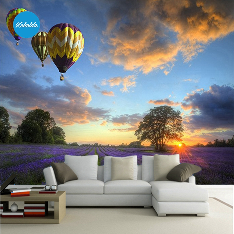 XCHELDA Custom 3D Wallpaper Design Balloon Photo Kitchen Bedroom Living Room Wall Murals Papel De Parede Para Quarto kalameng custom 3d wallpaper design street flower photo kitchen bedroom living room wall murals papel de parede para quarto