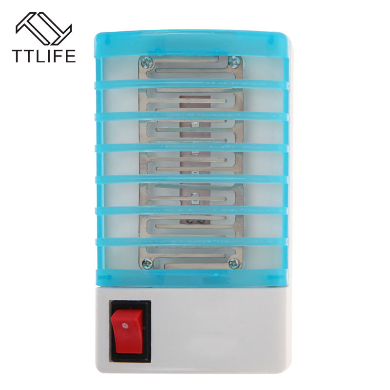 TTLIFE 2017 Mosquito Trap Mini Night Light Insect Mosquito Killer Repellent Mosquito Killer LED Sensor Night