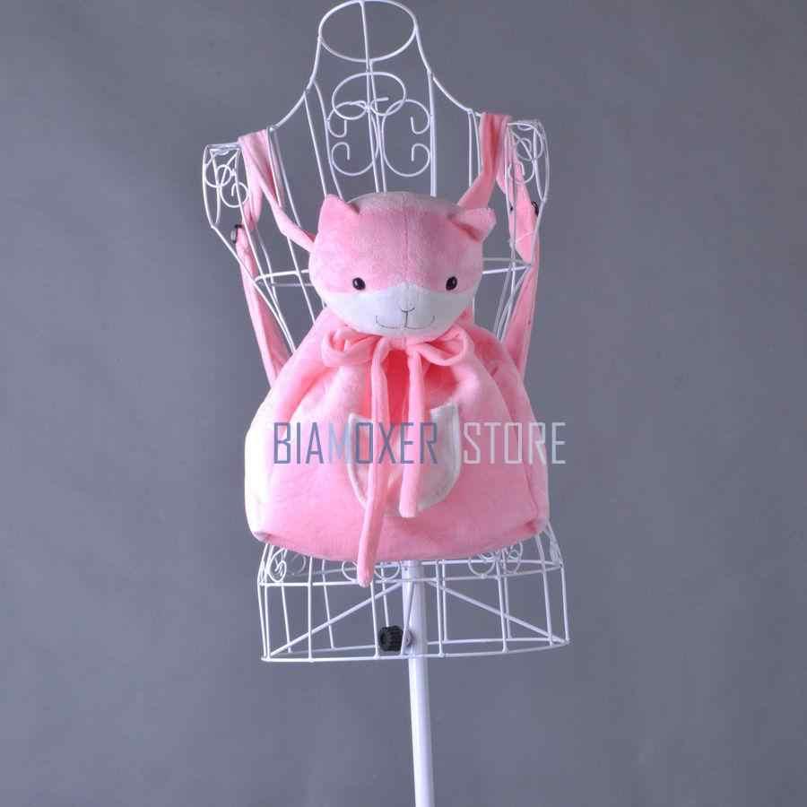 Danganronpa Nanami ChiaKi Девочки Лолита розовая Наплечная Сумка с изображением кошки рюкзак косплей бутафорские аксессуары