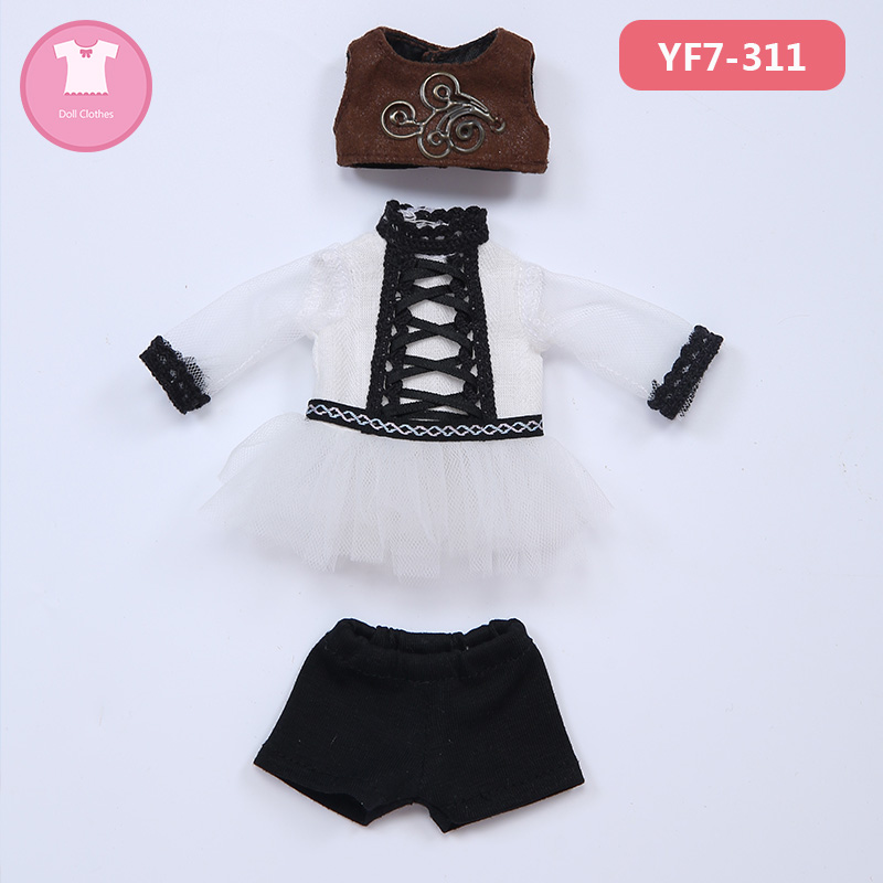 Image 5 - Doll BJD Clothes 1/7 Cute Suit Doll Clothes For FL Realfee Soso Body Doll accessories Fairyland luodollDolls Accessories   -