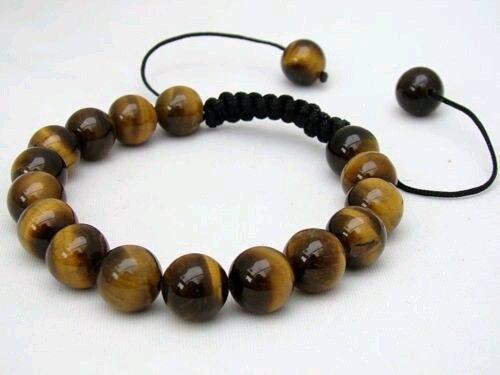 Bracelet Shamballa Oeil De Tigre