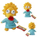 Maggie simpson juguetes de peluche muñeca grande 24 cm