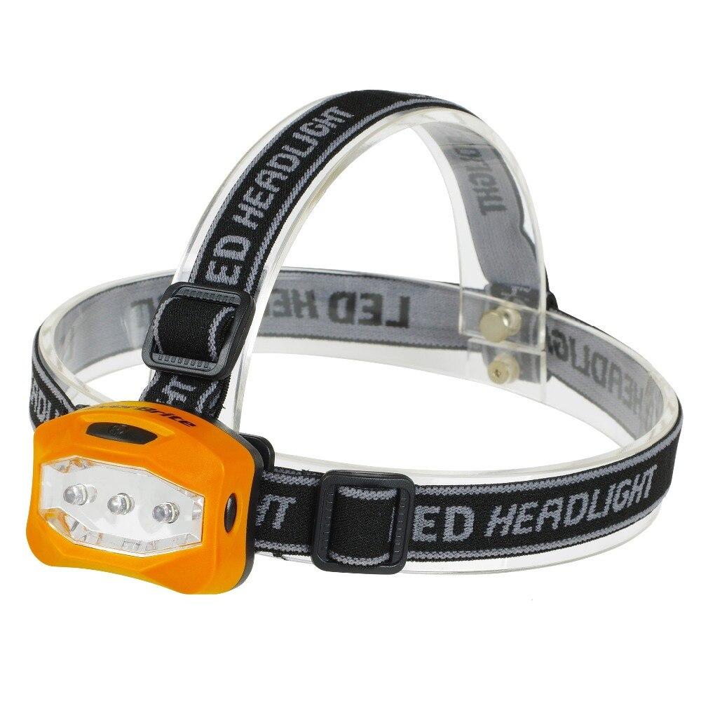 EVERBRITE LED Del Faro 2 Modalità Lampada della Luce Della Testa Della Torcia Elettrica Per L'escursione di Campeggio di Pesca di Notte con 3AAA Batterie
