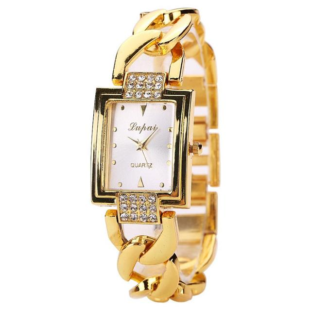 Lvpai Relogio Masculino Luxury Bracelet Watches Women Gold Stainless Steel Dress