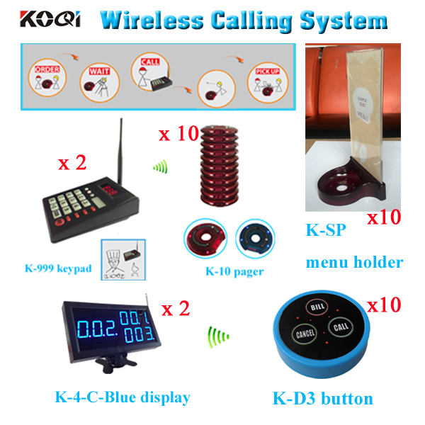 Electronic Numbering System Restaurant Service Buzzer Mhz Guest - Restaurant table numbering system