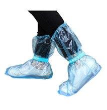 Необходимая, крышка. резиновая, галоши цикл водонепроницаемая дождь плащ сапоги длинные стиль