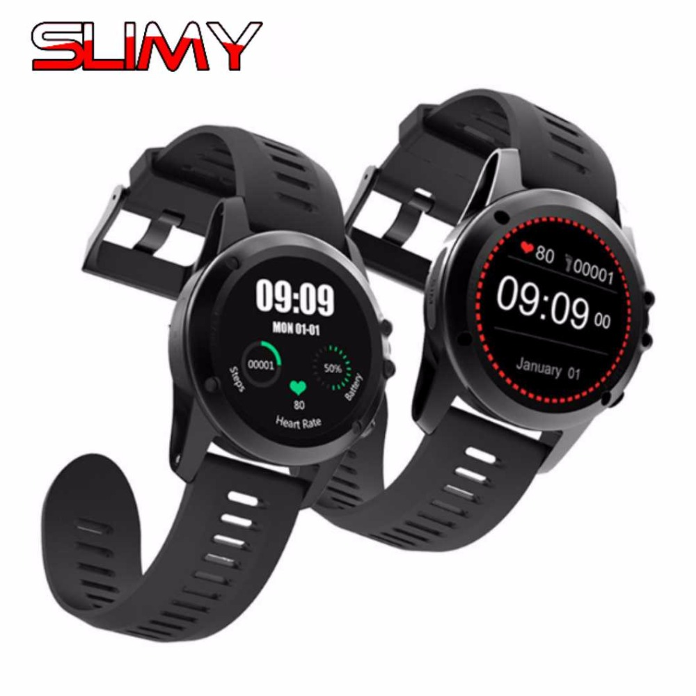 Slimy IP68 Waterproof Smart Watch Android 4.4 GPS Smartwatch Wristwatch 3G SIM WiFi Sport Fitness 5MP Camera Smart Watch H1 smart watch h1 android 5 1 os smartwatch mtk6572 512mb 4gb gps sim 3g heart rate monitor camera waterproof sports wristwatch