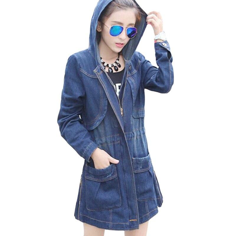Online Get Cheap Plus Size Jean Jacket Woman Fashion Slim New ...