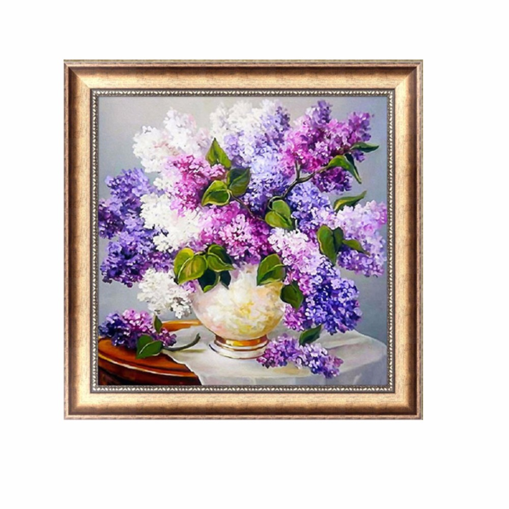 Home decor diy 5d embroidery embroidery painting for Home decor 5d