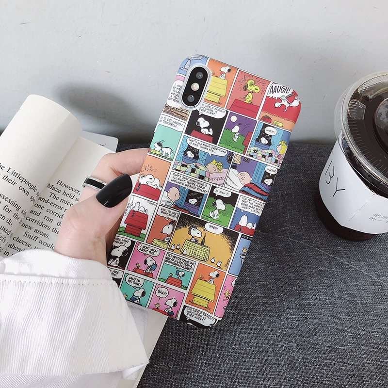 Hard PC Cases For Huawei P20 P30lite Mate20 Pro P10 cute <font><b>Cartoon</b></font> dog cover For <font><b>Honor</b></font> <font><b>9</b></font> 10Lite 8X V20 20 Nova 3 3i 4 5 5i Y9 2019 image