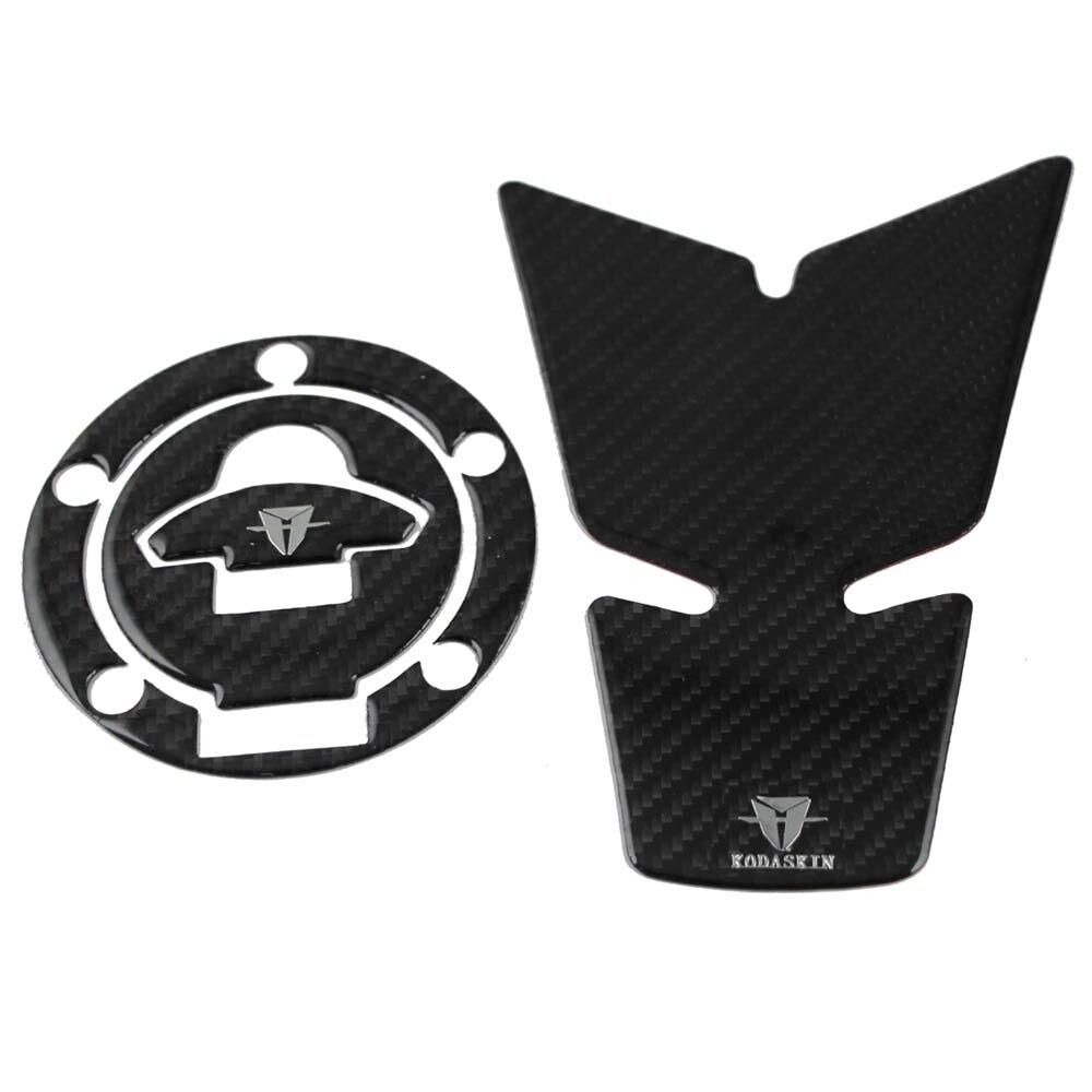 KODASKIN Motorcycle Tank Pad Decal Protector sticker emblem  Tank Cap Filler Cover For DUCATI  Monster 797 821 1200