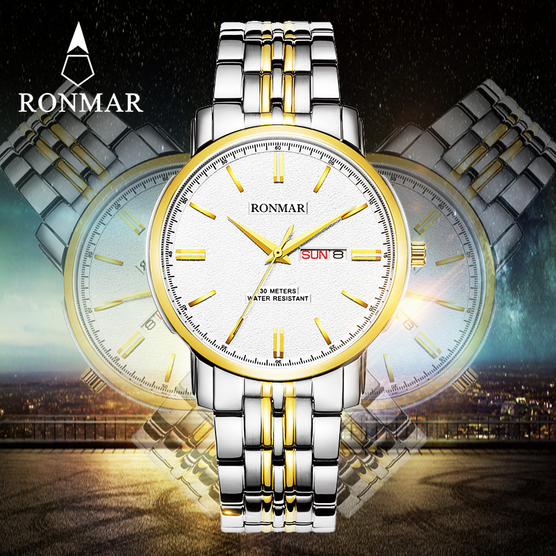 ФОТО 2017 New Top Brand Men Watches Gift Watch RM8007G Business Men's Watch Role Luxury Watch Men Clock Quartz Wristwatch xfcs