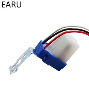 Image 5 - Fotocélula automática de encendido y apagado, controlador de lámpara de calle, interruptor de Sensor de fotointerruptor de Control, DC 220V 50 60Hz 10A