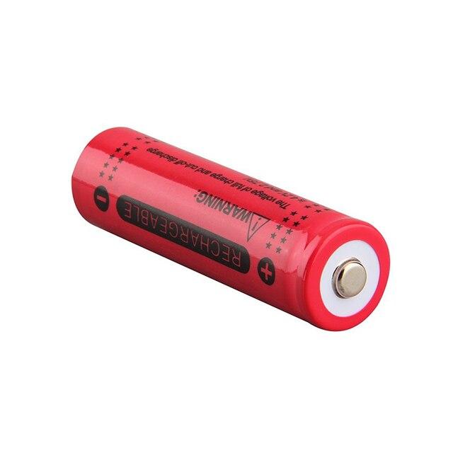 20 baterias recarregáveis do li íon do diodo emissor de luz da bateria das baterias da tocha da lanterna do diodo emissor de luz da bateria de 3.7 v 12000mah 18650
