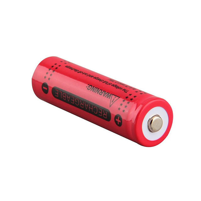 20PCS 3.7V 12000mah 18650 Battery LED Flashlight Torch Batteries Li ion Rechargeable Batteries Portable LED powerbank celular