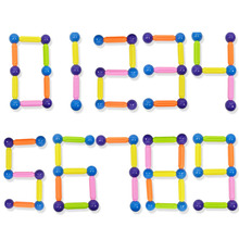 Интеллектуальный Магнитный шток строительные блоки ранние детские развивающие игрушки DIY различные модели сменные игрушки для детей