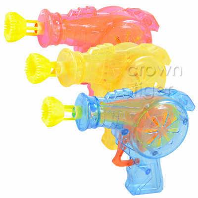 2018 светло-мультяшное мыло в форме животного пистолет с мыльными пузырями для детей на открытом воздухе игрушки Детские мигающие мыльные пузыри ручная пузырчатая воздуходувка