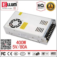Puissance Suply AC DC Module 220 V 5 V Unité Transformateur CE ROHS approbation LED Pilote Alimentation à découpage 5 V 80A 400 W pour LED écran