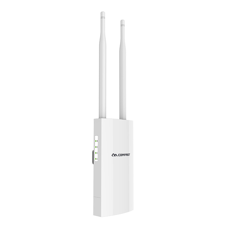Image 5 - long Range Outdoor Wireless Router 300Mbps Wireless Wifi Repeater /AP/WIFI Router CPE 2.4G Dual External Antenna 48V POE adapter-in Modem-Router Combos from Computer & Office