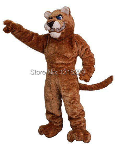mascot Leopard Panther Cougar mascot costume fancy dress custom fancy costume cosplay theme mascotte carnival