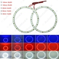 2Pcs Car Angel Eyes 1210/3528 39SMD LED Headlight Halo Ring Angel Eye Lighting White Red Blue#J-2674