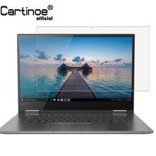 Cartinoe защитная плёнка для экрана ноутбука для lenovo Yoga 730 15 730-15 15,6 дюймов ноутбук прозрачный фильтр ЖК-экрана Защитная пленка, 2 шт