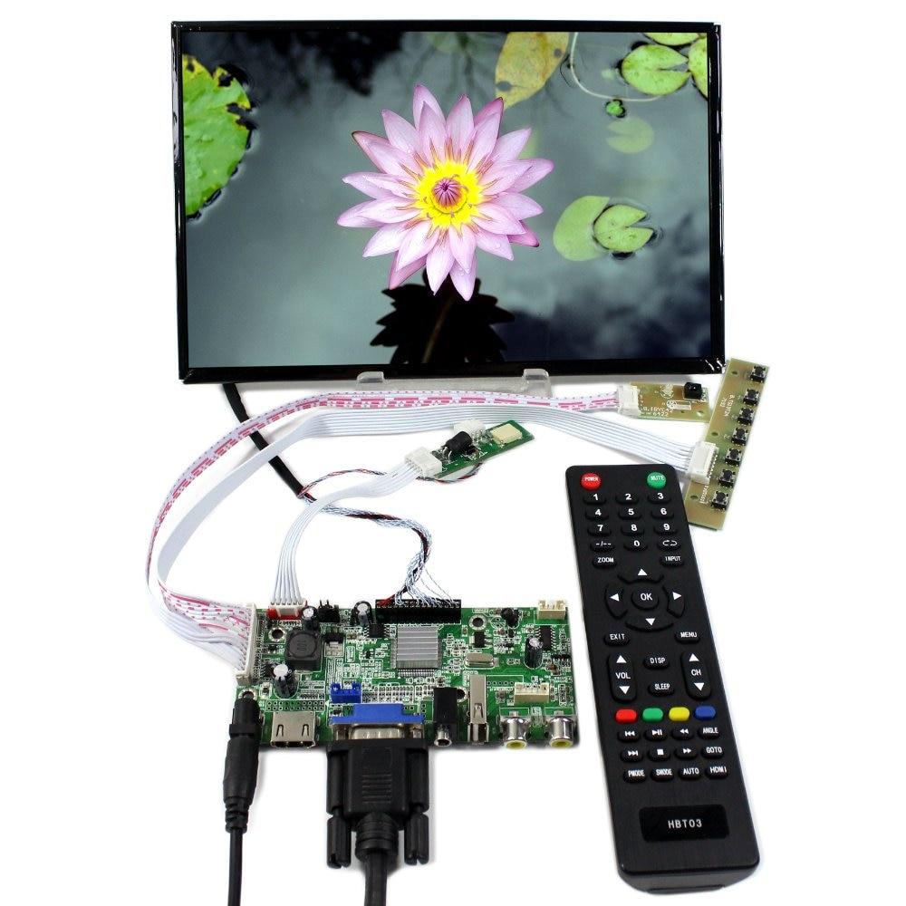HDMI VGA AV Audio USB LCD Controller Board+10.1 B101UAN02.1 1920x1200 AHAV LCD Screen 2 pcs novsight automobiles h11 led 13600lm car headlight 6000k white 80w car driving auto lamp fog lights dc11v 30v bulbs