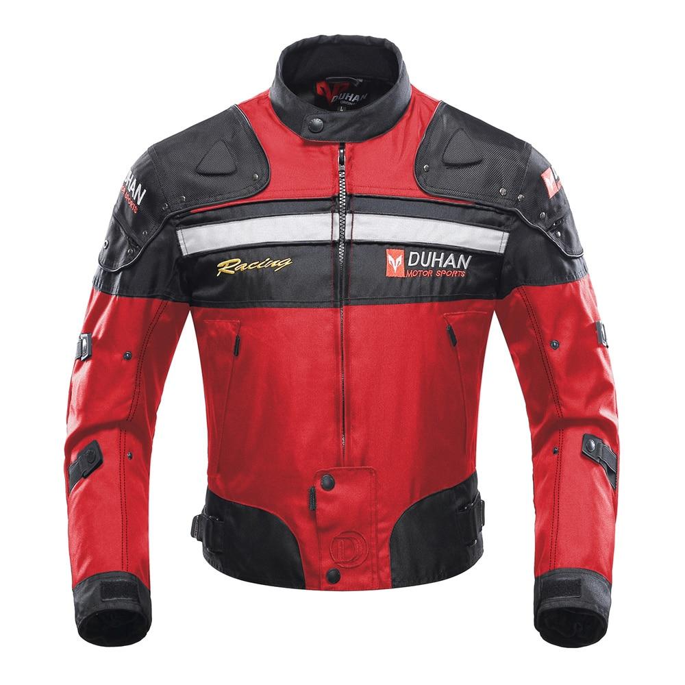 DUHAN Motorcycle Jacket Motorbike Riding Jacket Windproof Motorcycle Full Body Protective Gear Armor Racing Biker Moto Clothing