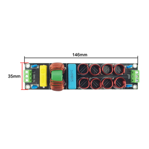 Image 5 - GHXAMP 20A EMI power filter Source filter Line speaker up to 4400W 1.4mm 1pc