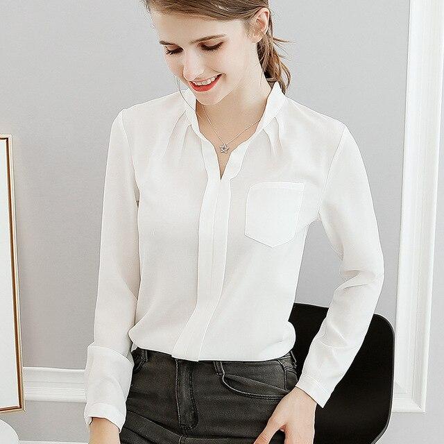 2018 neue Sommer Frühling Blusen Neue Frauen Hemd Plus Größe Tops Mode  Pullover Langarm Schlank Damen 2c014bc9a7