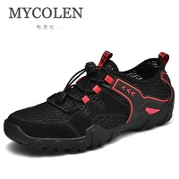 MYCOLEN/летние мягкие мужские туфли Лоферы без застежки; удобные мужские мокасины; Роскошные модные мужские повседневные туфли; Schoenen Mannen
