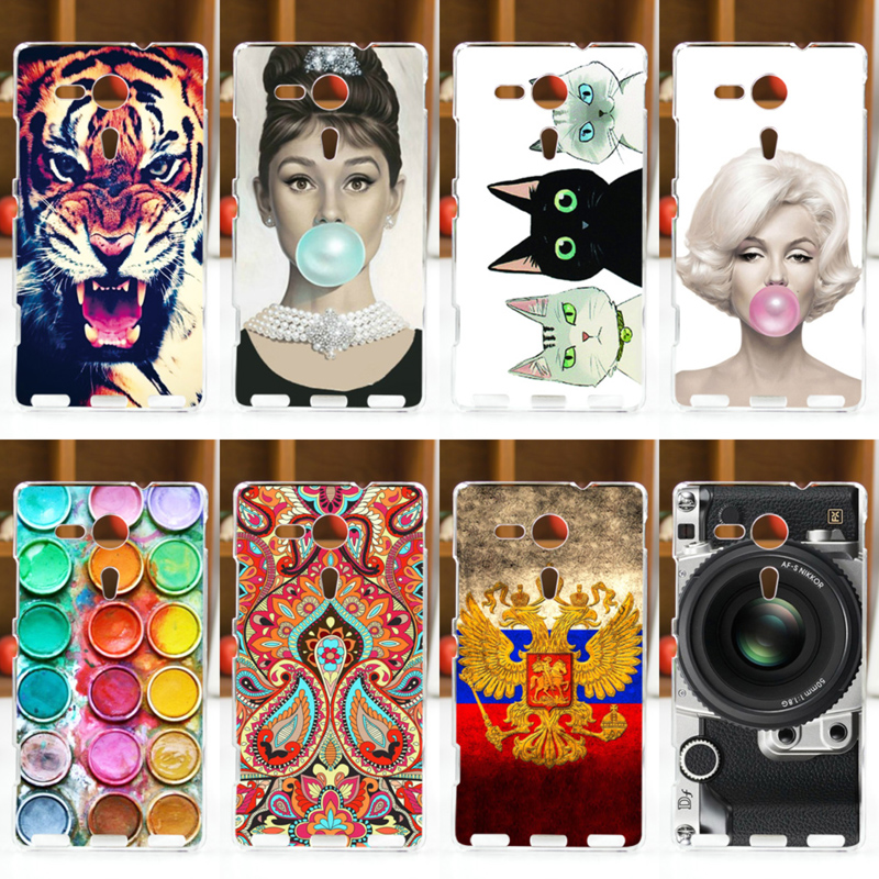 FOR SONY Xperia SP Case Cover M35h M35C C5303 C5302 C5306 Sony Phone Back Protector - Global Green Digital Parts Store store
