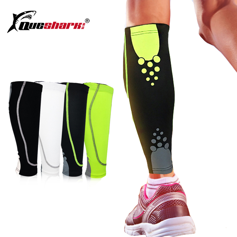 1Pcs Men Women Base Layer Compression Leg Warmers Running Basketball Football  Shin Guard Cycling Leg Sleeve 9938b8086