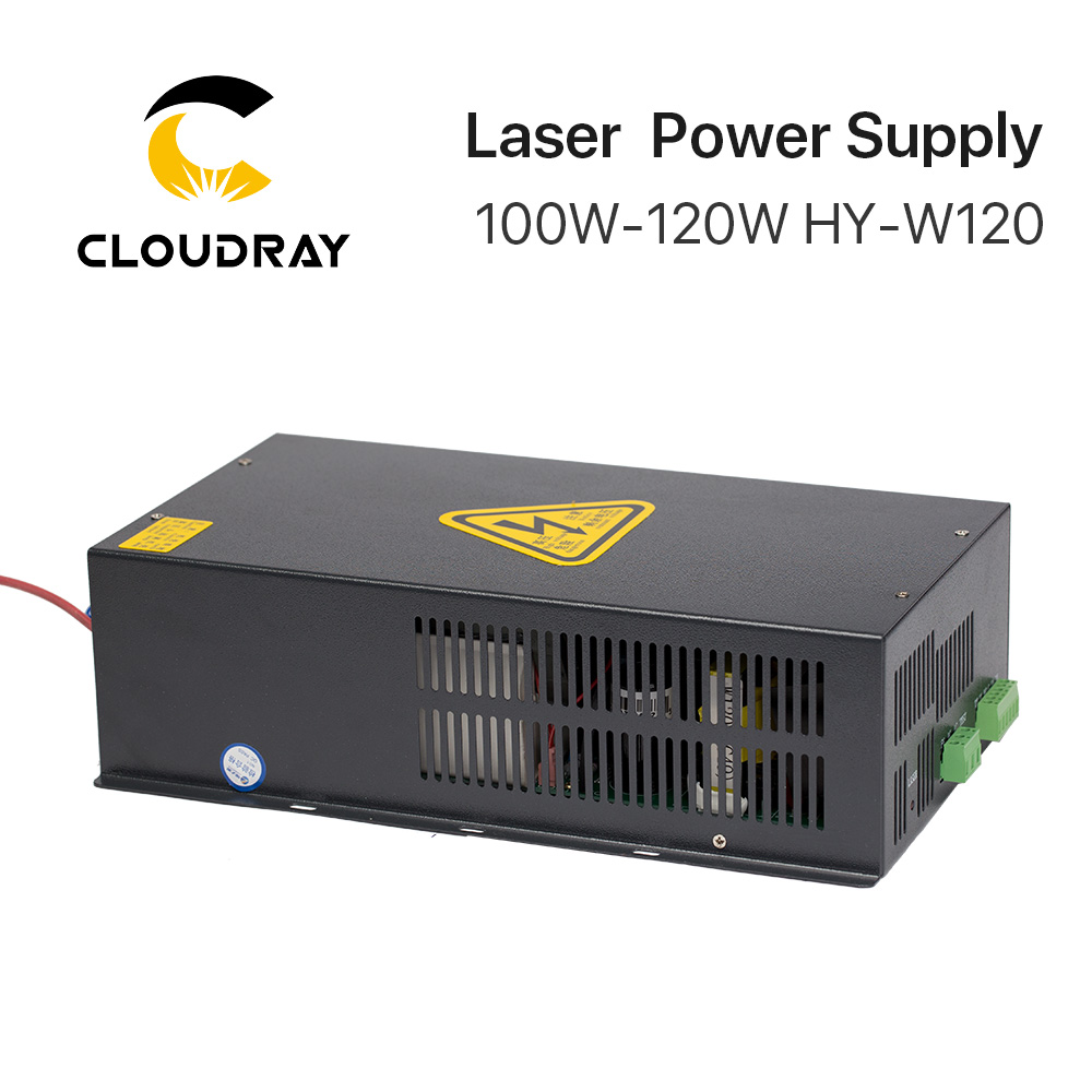Image 5 - Cloudray 100 120W CO2 Laser Power Supply for CO2 Laser Engraving Cutting Machine HY W120 T / W Series-in Woodworking Machinery Parts from Tools