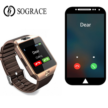 4a9eb1f83d27f DZ09 reloj inteligente llamada Bluetooth reloj teléfono soporte TF Sim de  la cámara del deporte Cámara reloj de pulsera para IOS Android PK A1 GT08  Q18 u8 ...