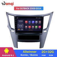 2G RAM 32G ROM Android 8.1 Car DVD For Subaru Legacy Outback 2009 2014 GPS Radio Video Multimedia Player